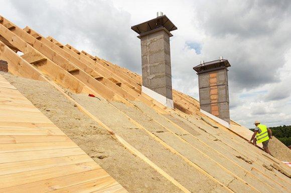 Installation d'isolation thermique sur toiture à Bonson