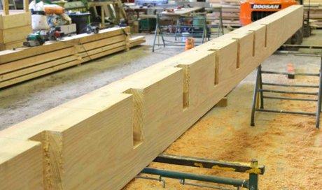 Fabrication de charpente en bois à Bonson