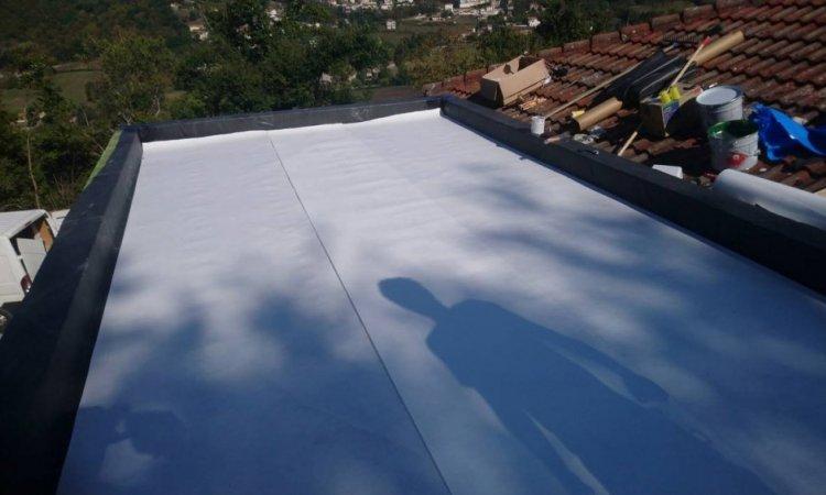 Réalisation de toiture terrasse à Bonsons